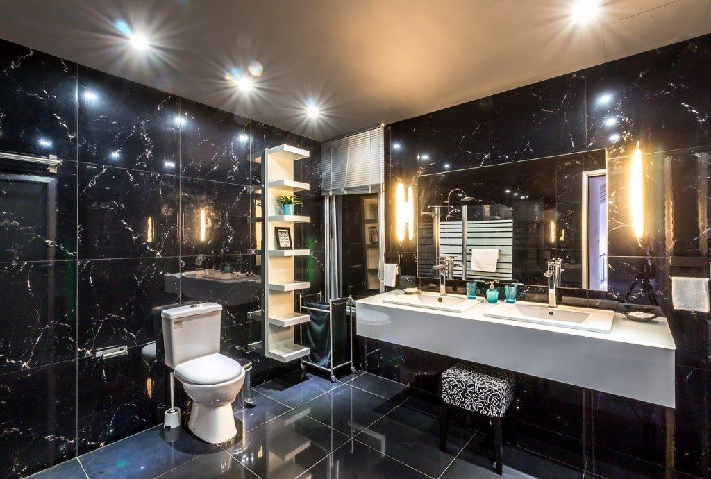 plan de salle de bains